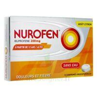 NUROFEN 200 mg, comprimé orodispersible à BARCARÈS (LE)