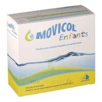 MOVICOL ENFANTS, poudre pour solution buvable en sachet-dose à BARCARÈS (LE)