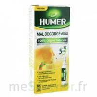 HUMER MAL DE GORGE AIGU à BARCARÈS (LE)