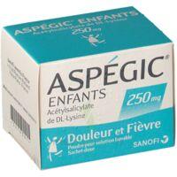 ASPEGIC ENFANTS 250, poudre pour solution buvable en sachet-dose à BARCARÈS (LE)
