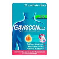 GAVISCONELL Suspension buvable sachet-dose menthe sans sucre 12Sach/10ml à BARCARÈS (LE)