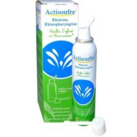 Actisoufre Solution Pour Pulvérisation Buccale/nasale En Flacon Pressurisé Fl Press/100ml à BARCARÈS (LE)
