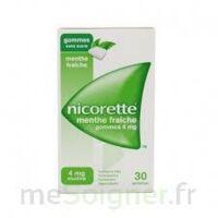 NICORETTE 4 mg Gom à mâcher médic sans sucre menthe fraîche Plq/30gom à BARCARÈS (LE)