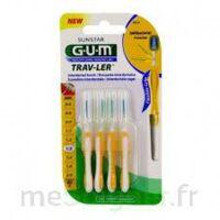 GUM TRAV - LER, 1,3 mm, manche jaune , blister 4 à BARCARÈS (LE)