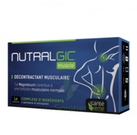Nutralgic Muscle Comprimés décontractant musculaire B/14 à BARCARÈS (LE)