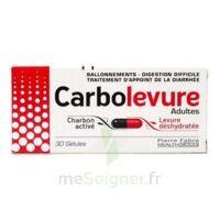 CARBOLEVURE Gélules adulte Plq/30 à BARCARÈS (LE)