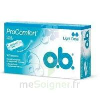 OB PRO COMFORT, light Flow , bt 16