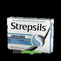 Strepsils lidocaïne Pastilles Plq/24 à BARCARÈS (LE)