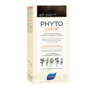 Phytocolor Kit coloration permanente 5.7 Châtain clair marron