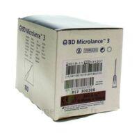 BD MICROLANCE 3, G26 5/8, 0,45 mm x 16 mm, brun  à BARCARÈS (LE)