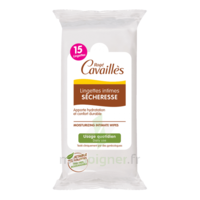 Rogé Cavaillès Intime Lingette spécial sécheresse Pochette/15 à BARCARÈS (LE)