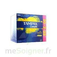 Tampax Compak - Tampon Régulier à BARCARÈS (LE)