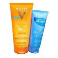 Vichy Idéal Soleil SPF50 Gel de lait ultra-fondant peau mouillée ou sèche 200ml+Après soleil à BARCARÈS (LE)