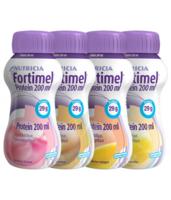 Fortimel Protein Nutriment Multi Saveurs Caramel/vanille/fraise/mangue 4 Bouteilles/200ml à BARCARÈS (LE)