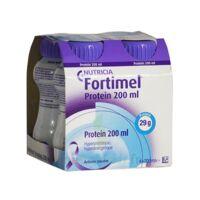 Fortimel Protein Sensation Nutriment Neutre 4 Bouteilles/200ml à BARCARÈS (LE)
