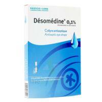 DESOMEDINE 0,1 % Collyre sol 10Fl/0,6ml à BARCARÈS (LE)