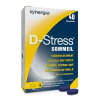 D-stress Sommeil Comprimés B/40 à BARCARÈS (LE)