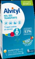 Alvityl Sucette Mal Des Transports B/10 à BARCARÈS (LE)