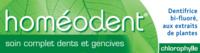 Boiron Homéodent Soin Complet Dents Et Gencives Pâte Dentifrice Chlorophylle 2t/75ml à BARCARÈS (LE)