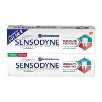Sensodyne Sensibilité Et Gencives Menthe Fraîche 2t/75ml à BARCARÈS (LE)