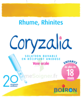 Boiron Coryzalia Solution buvable unidose B/20