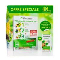 Arkofluides Programme Minceur Bio 30 ampoules/10ml + Arkogélules Konjac B/45 Offre spéciale 40 ans de santé naturelle à BARCARÈS (LE)
