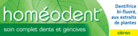 Boiron Homéodent Soin Complet Dents Et Gencives Pâte Dentifrice Citron T/75ml à BARCARÈS (LE)