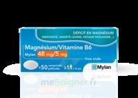 Magnesium/vitamine B6 Mylan 48 Mg/5 Mg, Comprimé Pelliculé à BARCARÈS (LE)
