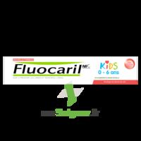 Fluocaril Kids Dentifrice Fraise 0-6 Ans T/50ml à BARCARÈS (LE)