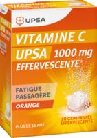Vitamine C Upsa Effervescente 1000 Mg, Comprimé Effervescent à BARCARÈS (LE)